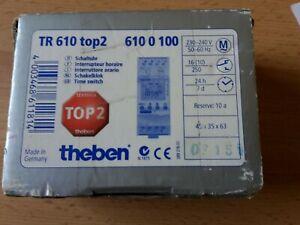 Theben TR 610 top 2  610 0 100 Schaltuhr
