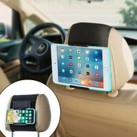 TFY Nintendo Switch Car Headrest Mount Holder for Phone & Tablet for 5-10.5 Inch