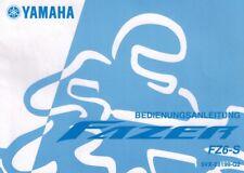 YAMAHA FZ fz6 rj07 FAZER manuale Conducente 5vx-28199-g2 manuale d'uso