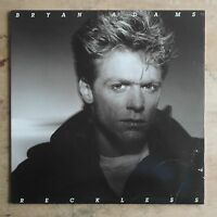 Bryan Adams Reckless 1984 Vinyl LP A&M Records SP-5013