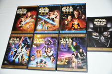 STAR WARS TRILOGY COMPLETE SAGA 12 DISC DVD LIMITED EDITION SET PLUS BONUS DVD