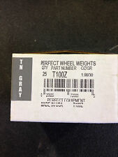PERFECT EQUIPMENT TZ SERIES COATED TIRE WHEEL WEIGHTS -T100Z