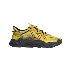New Adidas x Angel Chen Ozweego Shoes Sneakers (FX1944) - Yellow/ Black