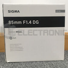 Nuovo Sigma 85mm F1.4 DG HSM Art Lens For Canon