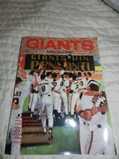 1990 San Francisco Giants Magazine MLB Baseball PROGRAM Volume 5 #1