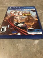 Roller Coaster Tycoon Joyride PS4 PlayStation - Fast Free Shipping
