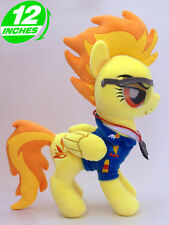BIG 12'' 30CM Spitfire Plush My Little Pony Stuffed Animal Horse Doll POPL6032