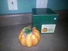 Fitz And Floyd 2063/55 Pumpkin Covered Soup Bowl 2001
