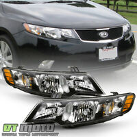 For 2010-2013 Forte/Forte Koup Headlights Headlamps Replacement 10-13 Left+Right