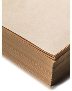 Brown Wrapping Paper Sheets 15-Recycled Packaging Natural Plain Kraft Biodegrade
