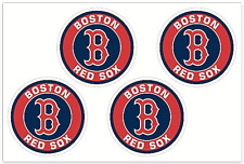 (4) Boston Red Sox MLB Decals / Yeti Stickers *Free Shipping