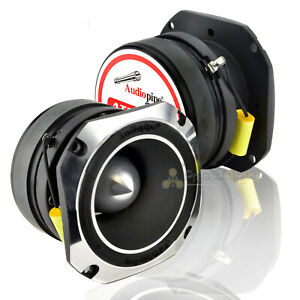 "2 Pack Audiopipe ATR-4061 4"" 600W Titanium Super Car Tweeter ATR4061 Pair"