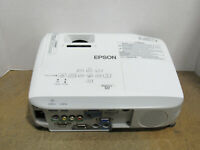 Epson PowerLite S17 3LCD SVGA Projector 2700 Lumens 1589 Lamp Hours w/ No Remote