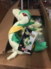 "Pokémon Black + White Edition 6"" Plush Servine, Cute And Fun! licensed REAL TOMY"