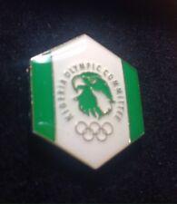 Nigeria OLYMPIC PIN  NOC    PyeongChang bobsled 2018 KOREA