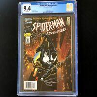 Spider-Man Adventures #8 💥 CGC 9.4 💥 1st Animated! Venom Cvr 1995 Marvel Comic