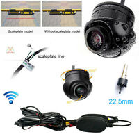 HD Wireless Car Rear View CCD 170° angle vision Front Backup Side Parking Camera