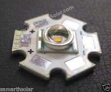 Cree XLamp XR-E Q5 Cool White 3W 300 lumen LED Light Emitter with 20mm Star PCB