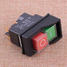 IP55 KJD17 KLD28 4 Pin Start Stop On Off Volt Release Switch 250V Interrupteur