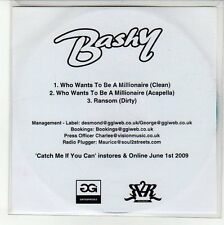 (EN684) Bashy, Who Wants To Me A Millionaire - 2009 DJ CD