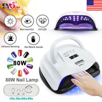 SUN XPlus 80W Nail Lamp UV LED Light Professional Nail Dryer Gel Curing Machine