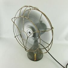 "VINTAGE 13.5"" F.A. SMITH ARCTIC AIRE OSCILLATING FAN R128  Works"