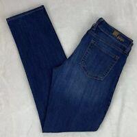 Kut From The Kloth Katy Boyfriend Jeans Straight Leg Distressed Stretch Size 8