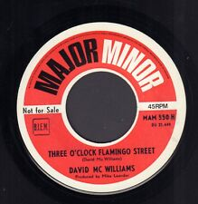 "DAVID McWILLIAMS ‎– Three O'Clock Flamingo Street (1969 PROMO SINGLE 7"" BELGIUM)"