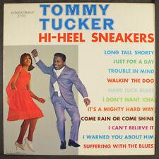 "TOMMY TUCKER: high heel sneakers CHECKER 12"" LP 33 RPM"