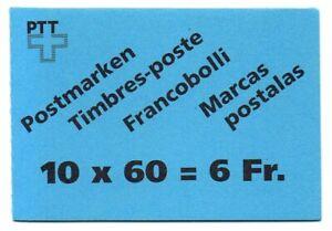 Schweiz, Michel Nr. 0-94 (Markenheftchen) postfrisch.