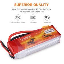 FLOUREON 3S 11.1V 2200mAh 25C XT60 LiPo Battery for RC Car Truck Airplane Drone
