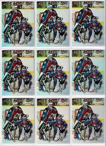 PATRICK ROY - Nine (9) Cards LOT - 1998-99 Topps Gold Label Class 1 - AVALANCHE