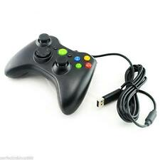 1XBlack Wired USB Gamepad Controller Joystick Joypad for Microsoft XBox360 PC US