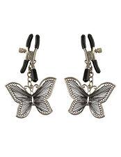 🔥 negocio tarea 📣 nipple Clamps Butterfly pecho bornas pezón fetish sexo