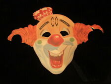 Vintage Paper Clown Mask Early 1950's Halloween greatest show on earth circus