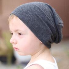 Baby Boys Beanie Cap Toddler Infant Kids Winter Warm Cotton Soft Slouchy Hat Cap