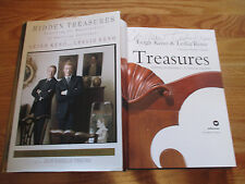 """LEIGH & LESLIE KENO signed """"HIDDEN TREASURES"""" Book ANTIQUES ROADSHOW EXPERTS"""