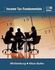Income Tax Fundamentals 2010 (with TaxCut Tax CD-ROM) by Whittenburg, Gerald E.