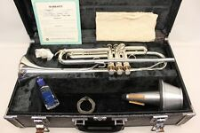 YAMAHA PRO YTR734 SILVER PLATED TRUMPET YTR 734 Professional  DOCUMENTED WoW