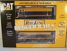 MTH Caterpillar F-3 ABA Diesel Set w/PS 2.0, 33-2009-1/4, C9, NIB