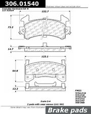 Centric Parts 306.01540 Front High Performance Brake Pads
