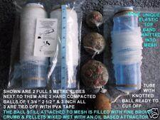 PVA MESH 60MM TUBES 60 METRES Make PVA BAGS 12 X REFILL