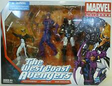 """THE WEST COAST AVENGERS Marvel Universe 4"""" inch Action Figures 3-pack 2013"""