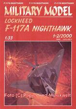 """Halinski MM 2000/1-2 - Lockheed F-117 A """"Nighthawk"""" - 1:33"""
