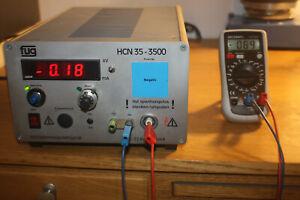 Hochspannungsnetzteil Labornetzgerät FUG HCN Leybold Neva Phywe *3,5kV 10mA*