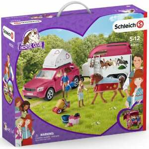Schleich Horse Club 42535 Horse Adventures with Car and Trailer inc Figures