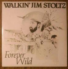 WALKIN JIM STOLTZ Forever Wild LP Private Country Folk Big Sky Montana SEALED