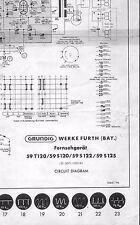 Grundig Service Manual für SW-TV 59 T 120/ S 120/ S 122/ S 125