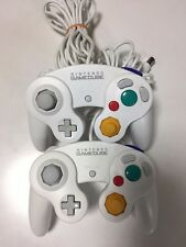 Nintendo GameCube Controller (White) 2 pieces from Japan F/S
