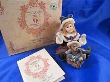 Boyds Yesterday's Child Kimberly w/Klaus Special Delivery Figurine #3547 Mib 1E